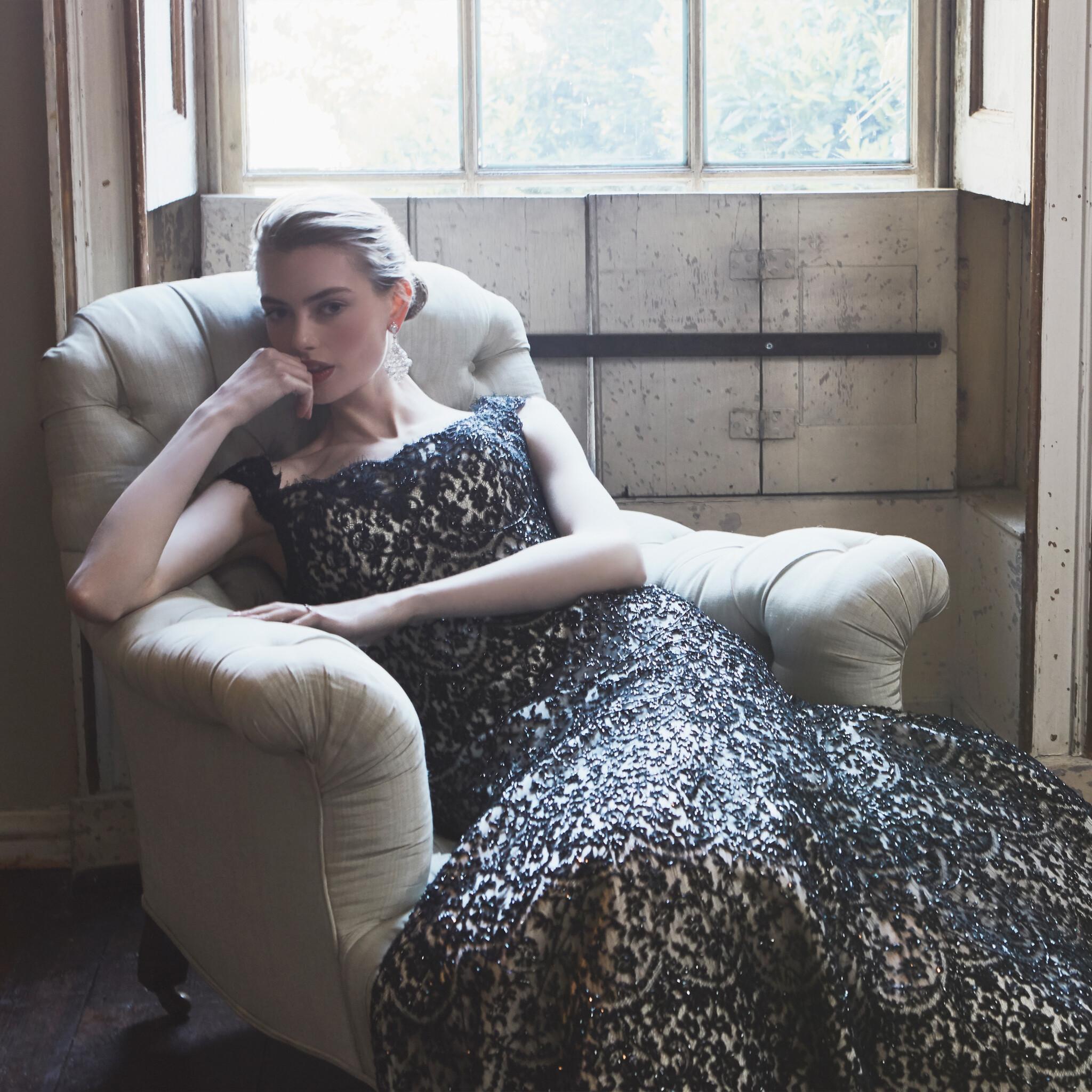 Phillipa-Lepley-Couture-Wedding-Dress-Bespoke-Eveningwear-Black-Beaded-Tamsin-Evening-Gown